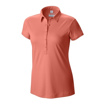 Polo mujer ZERO RULES™ II lychee heather