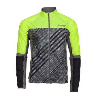 Veste homme WIND SWELL+ high viz/high tide