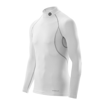 Camiseta térmica hombre CARBONYTE THERMAL white