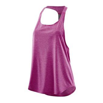 Camiseta de tirantes mujer PLUS REMOTE T BAR magenta/marle