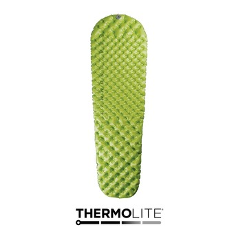 Colchón hinchable COMFORT LIGHT INSULATED verde