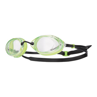 Gafas de natación TRACER RACING clear/green/black