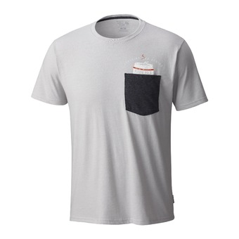 Tee-shirt MC homme NO CAN LEFT BEHIND™ heather grey ice
