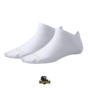 Chaussettes femme PHD RUN LIGHT MICRO white