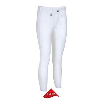 Pantalon fond de peau siliconé femme LUCINDA blanc