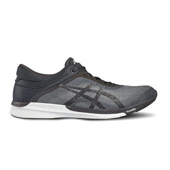 Chaussures running femme FUZEX RUSH midgrey/black/white