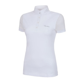 WOMAN COMPETITION POLO SHIRT CATHERINE WHITE