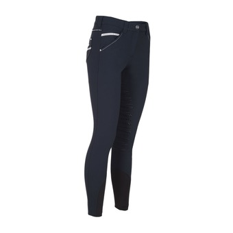 WOMAN STUDS BREECHES WITH X-GRIP JESSICA BLUE
