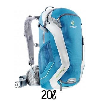 Mochila 20L  BIKE ONE azul/blanco