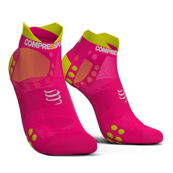 Calcetines ULTRALIGHT LOW PRSV3 fluo pink