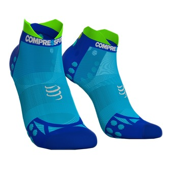 Calcetines ULTRALIGHT LOW PRSV3 fluo blue