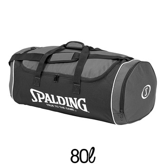 Sac de sports 80L TUBE anthracite/noir/blanc