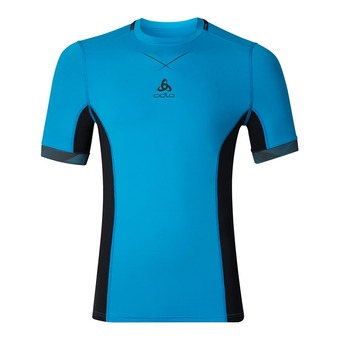 Camiseta hombre CERAMICOOL PRO blue jewel/black