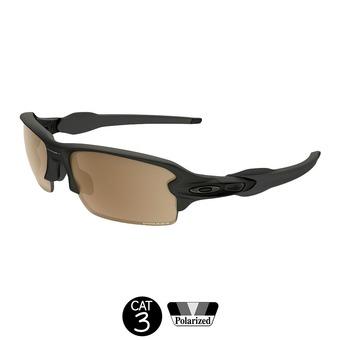 Gafas de sol polarizadas FLAK 2.0 polished black w/ prizm tungsten