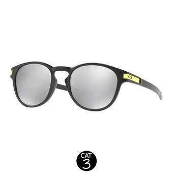 Lunettes LATCH V.ROSSI matte black / chrome iridium