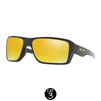 Gafas de sol DOUBLE EDGE polished black / 24k iridium