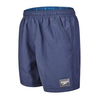Short de bain homme CHECK TRIM LEISURE blue/black