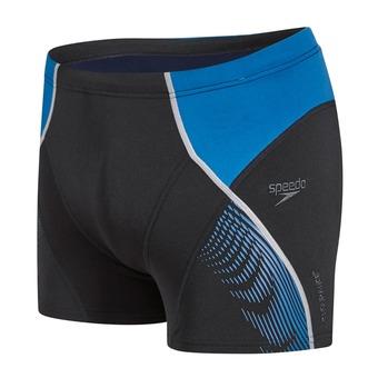 Boxer de bain homme FIT PANEL black/blue