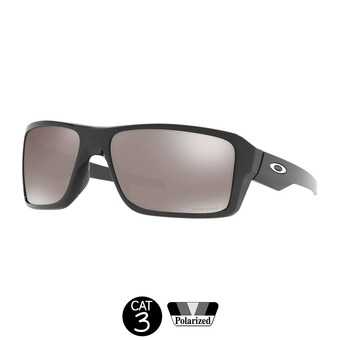 Gafas de sol polarizadas DOUBLE EDGE polished black / prizm black