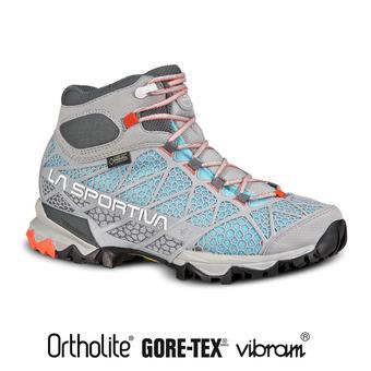 Zapatillas de senderismo mujer CORE HIGH GTX ice blue