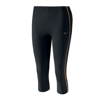 Collant 3/4 femme CORE black/orange pop