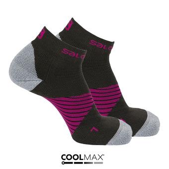 Calcetines SPEED PRO grey/pink purple