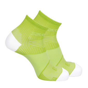 Chaussettes SONIC VIBRATION lime green/white