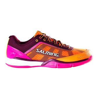 Zapatillas indoor mujer VIPER 4 violeta/naranja