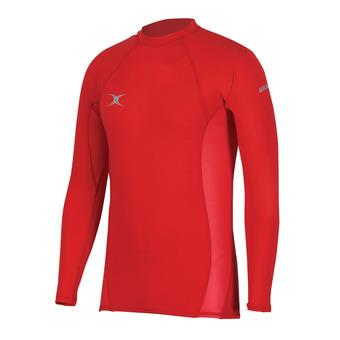 Camiseta térmica hombre ATOMIC rojo