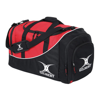 Gilbert CLUB V2 65L - Bolsa de deporte black/red