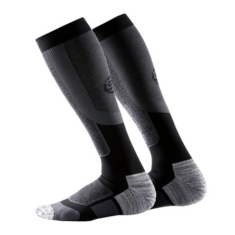 Calcetines de compresión hombre ESSENTIALS ACTIVE THERMAL black/pewter