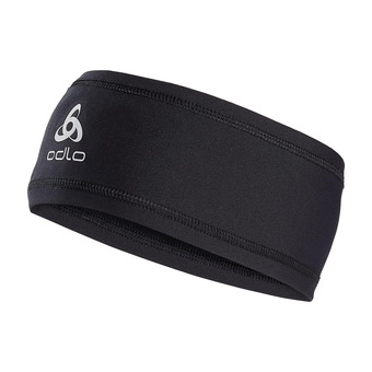 Odlo POLYKNIT LIGHT - Cinta deportiva black