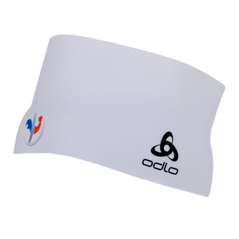 Odlo COMPETITION FAN - Cinta deportiva france fan white