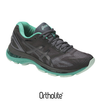Asics GEL-NIMBUS 19 LITE-SHOW - Zapatillas de running mujer dark grey/black/reflective