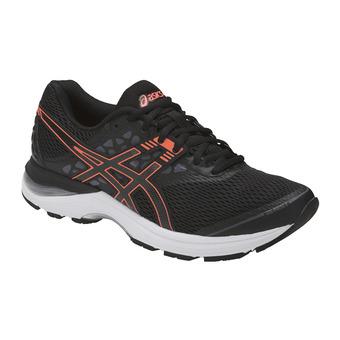 Chaussures running femme GEL-PULSE 9 black/flash coral/carbon