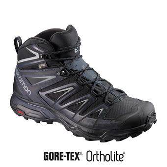 Zapatillas de senderismo hombre X ULTRA 3 MID GTX® black/india ink