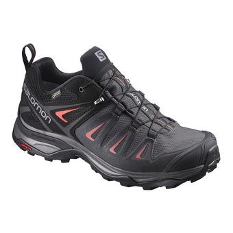 Salomon X ULTRA 3 GTX - Chaussures randonnée Femme magnet/black/red