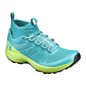 Zapatillas trail mujer XA ENDURO ceramic/lime punch./black