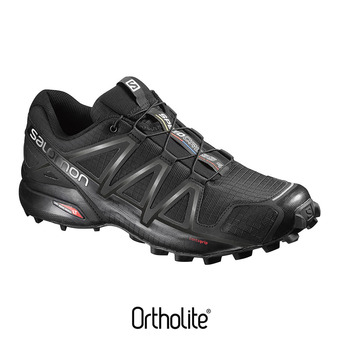 Salomon SPEEDCROSS 4 - Chaussures trail Homme black/black metallic