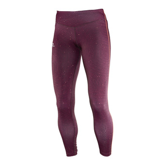 Mallas mujer ELEVATE fig/beet red