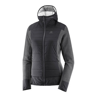 Salomon RIGHT NICE - Hybrid Jacket - Women's - black