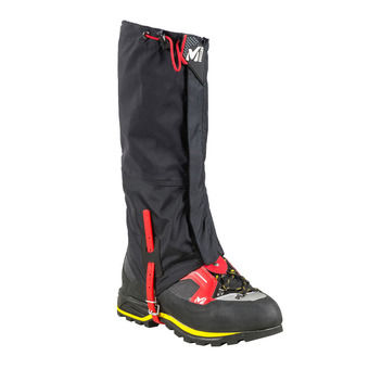 Millet ALPINE DRYEDGE - Gaiters - Men's - black/red