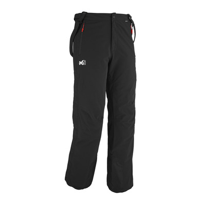Sport Con Uomo Jackson Black Bretelle Private Shop Pantaloni Stretch A0qwAd