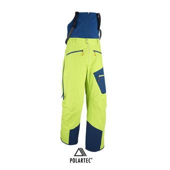 Pantalon à bretelles homme M WHITE CARGO NEO 3L acid green/poseidon