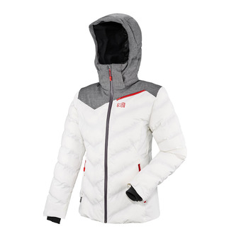 Chaqueta mujer LD HEIDEN II cloud dancer/heather grey