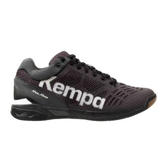Kempa ATTACK MIDCUT - Zapatillas de balonmano hombre black/white