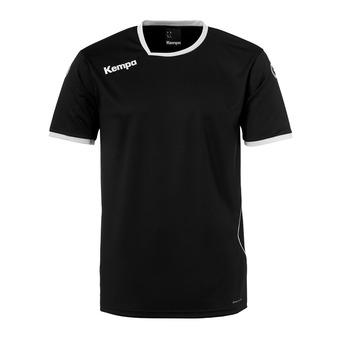 Camiseta hombre CURVE negro/blanco