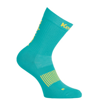 Chaussettes femme LOGO CLASSIC turquoise/jaune spring