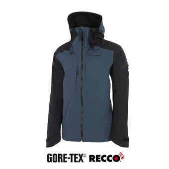 Peak Performance TETON GTX - Chaqueta hombre blue steel