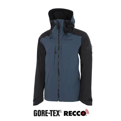 Blue Ox8O6r Teton Uomo Con 2l Tex® Cappuccio Private Giacca Steel Gore q6YSwvf